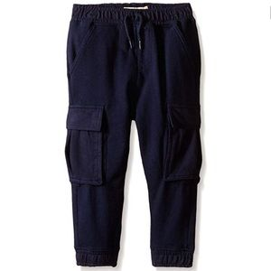 Kid's Navy Blue Boy's Relax Jogger Sweatpants